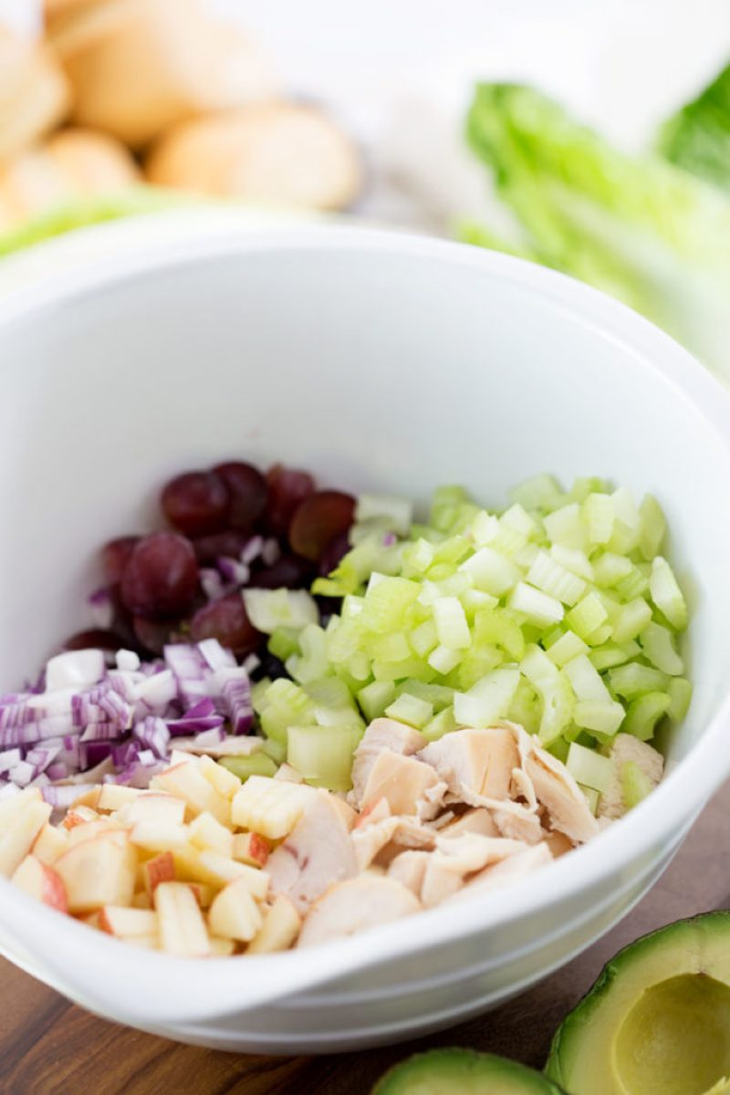 ingredients-in-bowl-chicken-salad