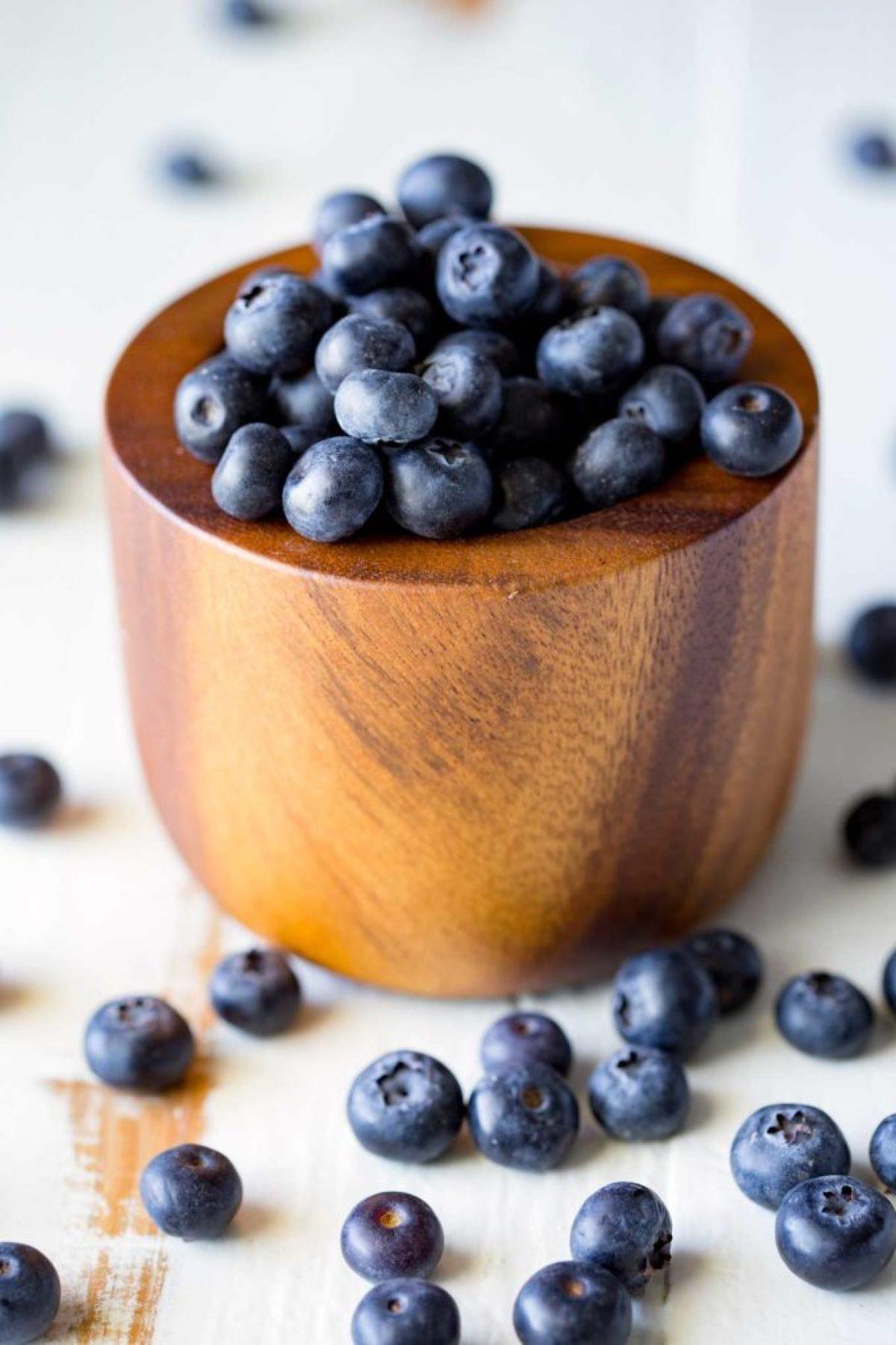 Florida Blueberries! Blueberry pineapple fruit salsa