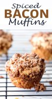 Spiced Bacon Muffins packed with protein, I made these 6 times in a week, they are that good.