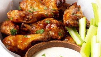 Crispy Oven Baked Chicken Wings Easy Peasy Meals