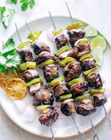Balsamic Rosemary Beef Kabobs