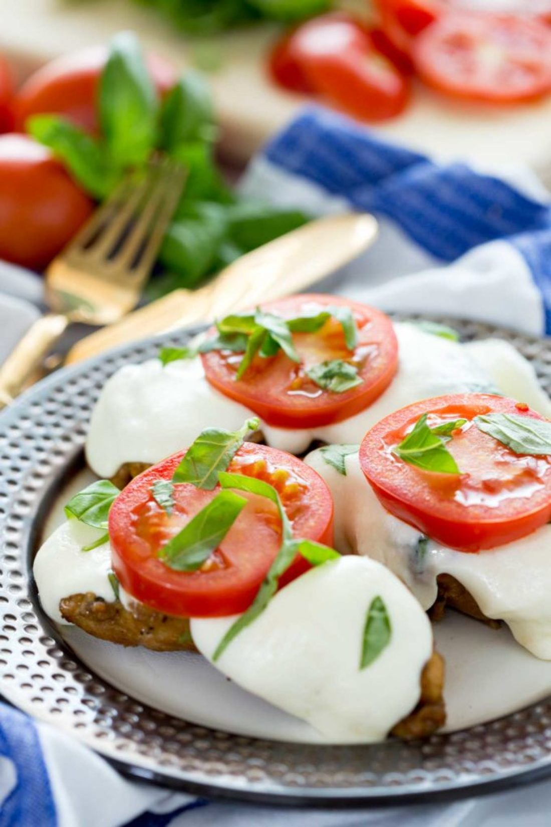 Balsamic Caprese Chicken is creamy, delicious, and yummy.