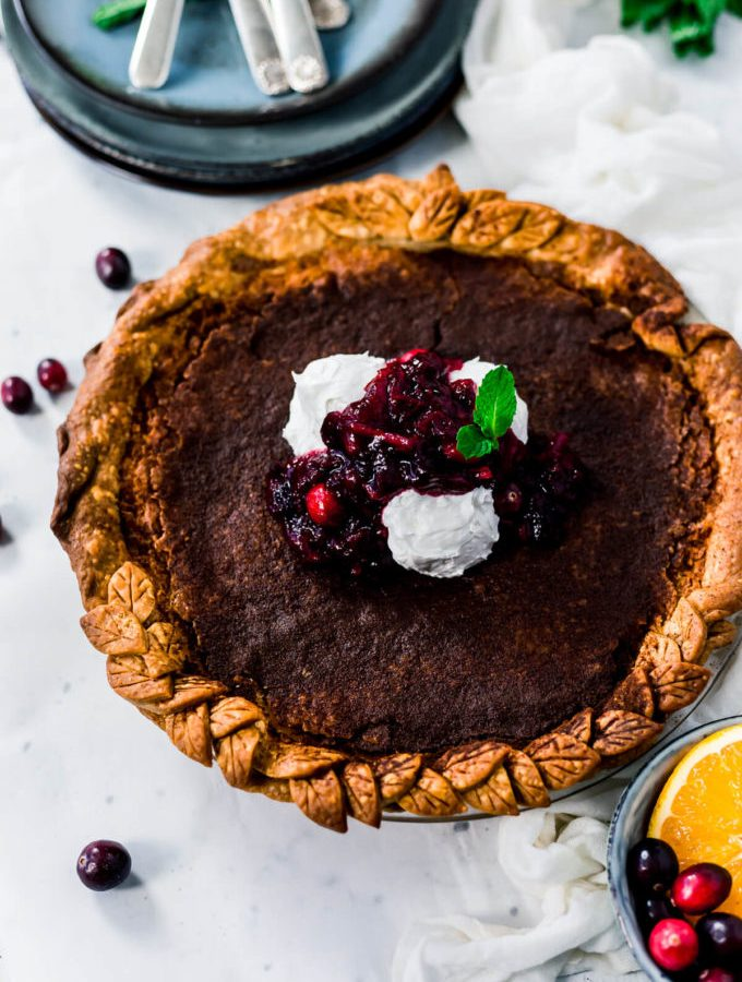 Easy to make buttermilk pie