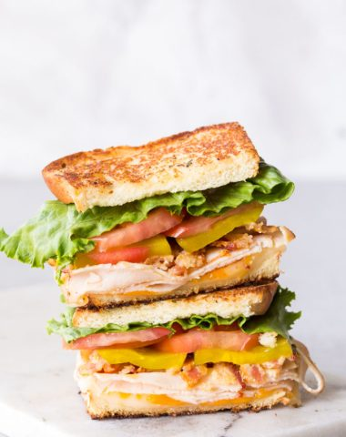 Easy Chicken Club Sandwich