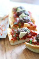 Kofta Baguette pizza sandwich