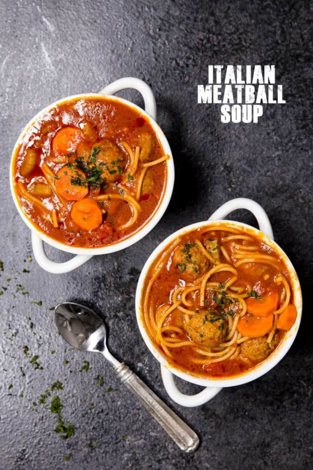EASY MEATBALL SOUP EASY PEASY MEALS