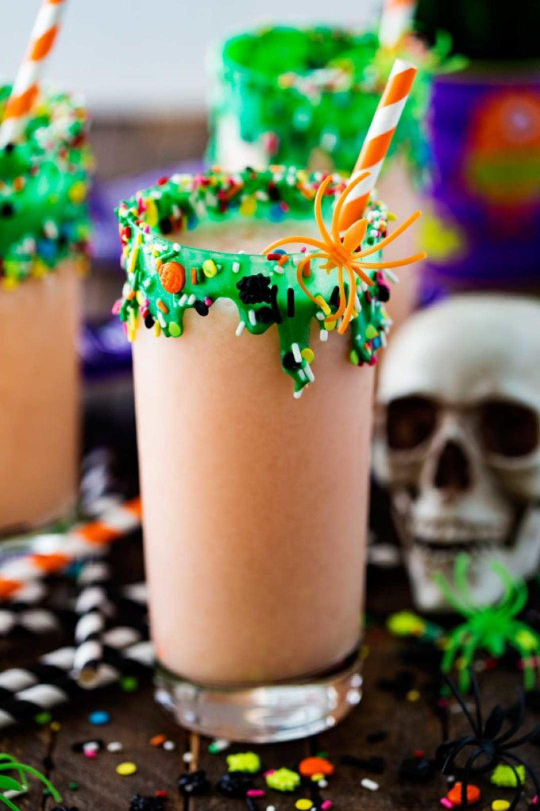 Swamp potion Halloween punch
