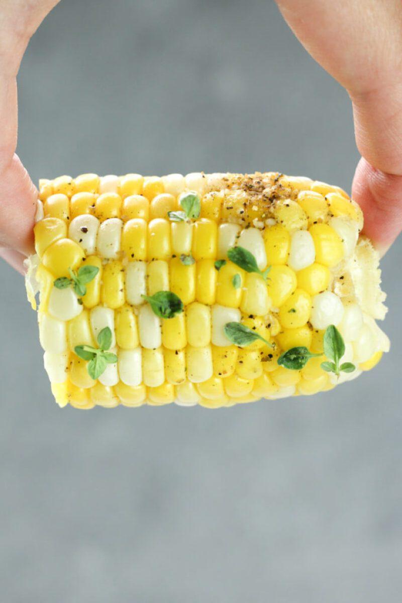 Hobo Potato Veggie Packets Recipe, corn tinfoil dinner