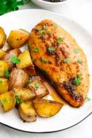 Sheet Pan Honey Garlic Chicken with Potatoes