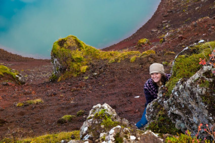 Iceland southern golden circle, kerid crater