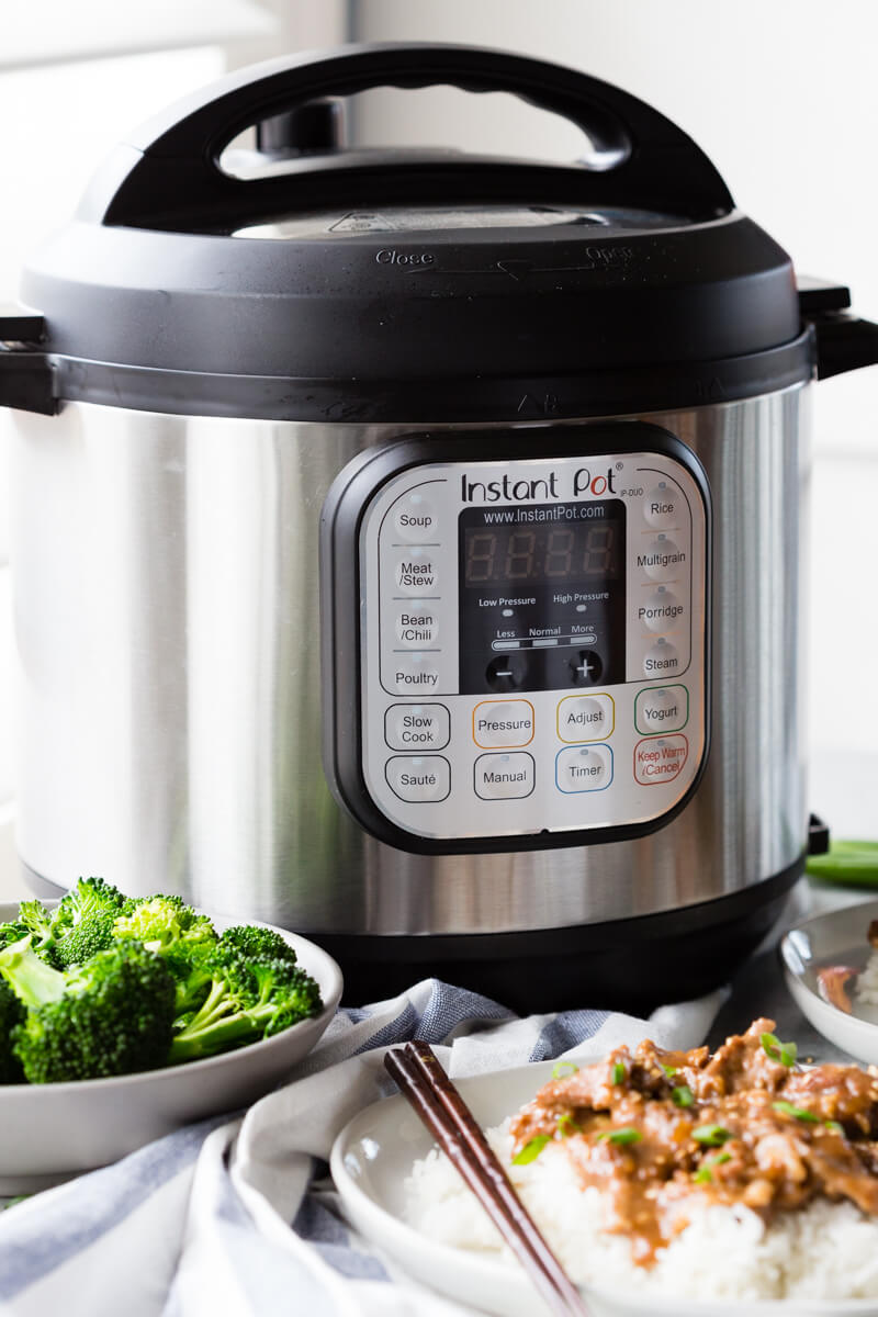 Instant Pot Mongolian Beef: You will never guess so much flavor could be packed into just 20 minutes of cooking time! Easy to make and beats take-out too!
