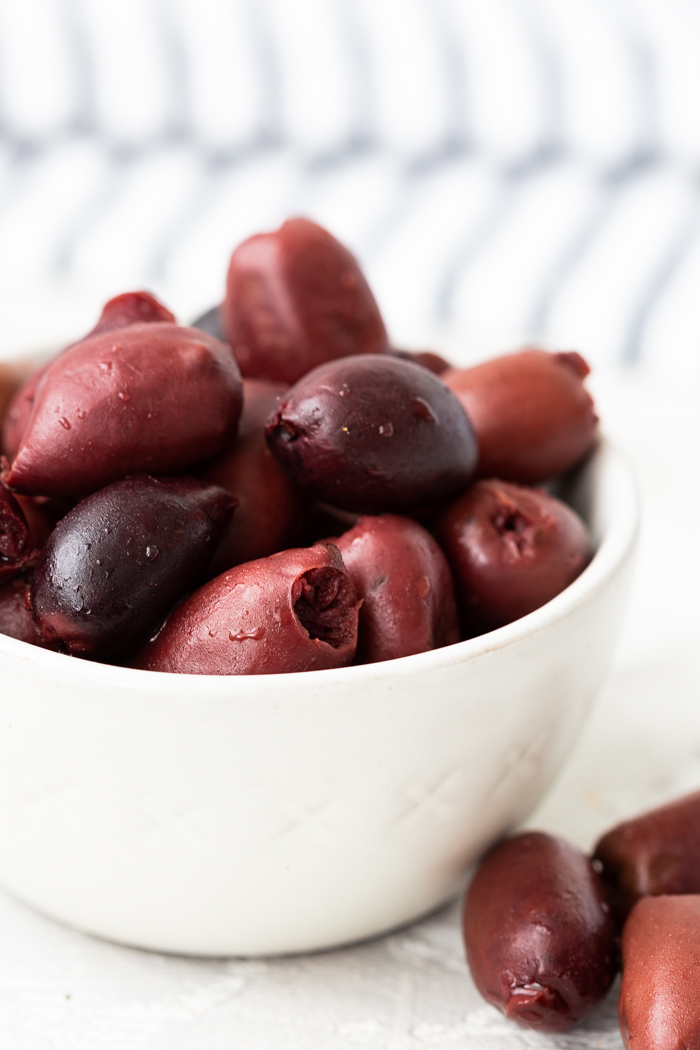 Kalamata olives is a low carb snack that is keto friendly