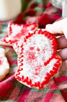 Sugar Cookies that are cut out Christmas Cookies, and fun for decoratiing