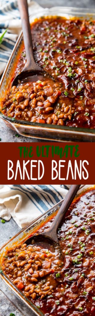 Easy Baked Beans: These easy baked beans are the ultimate side dish, so flavorful, delicious, and easy to make.