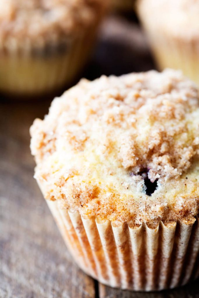 Blueberry Muffins are easy, light, delicious and flavorful