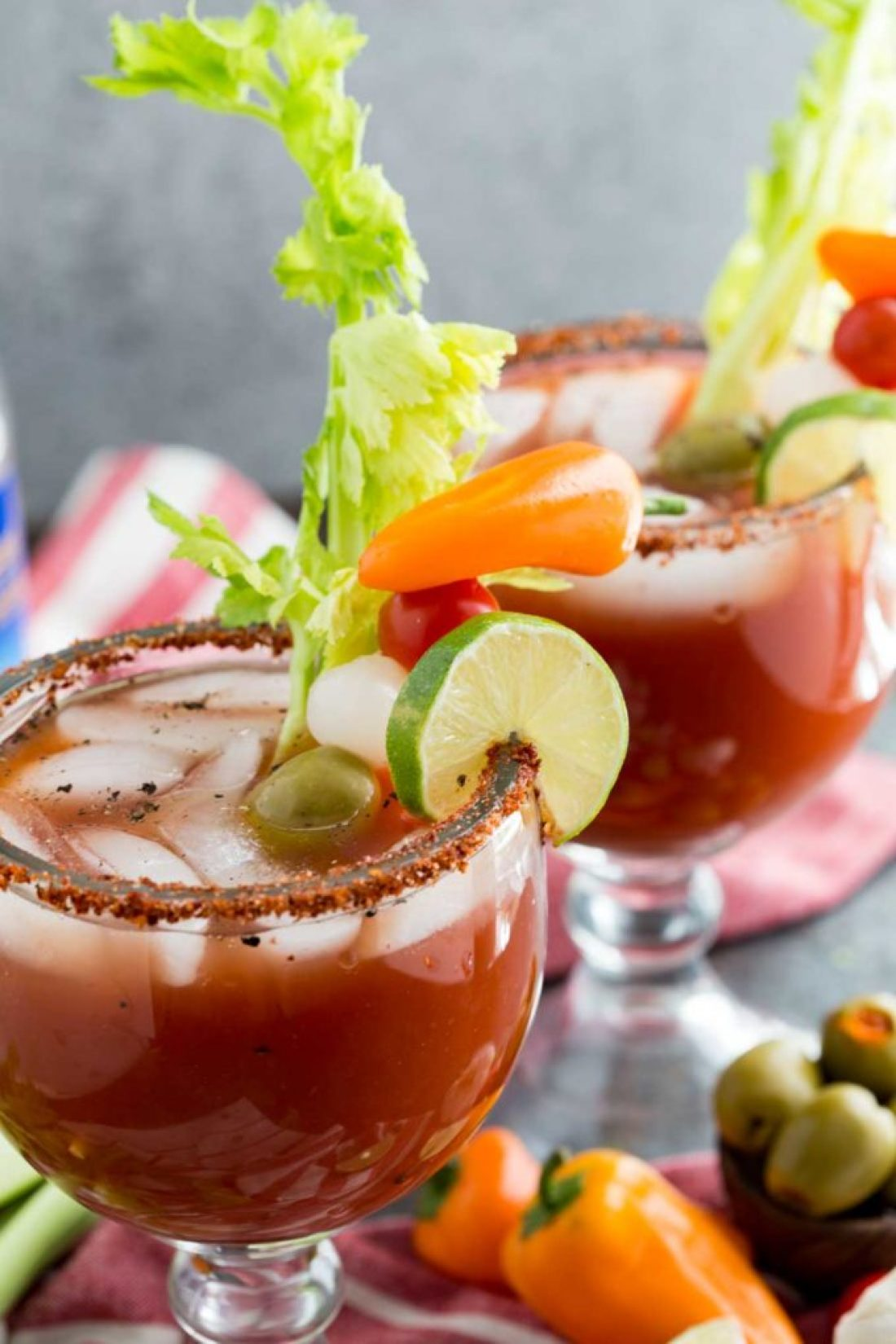 Best Michelada Recipe: Or, not so bloody mary. This is a spicy tomato based mocktail with bold flavors, and a fun kick perfect for eating alfresco with friends!