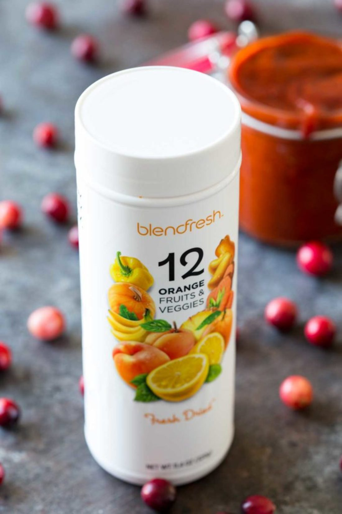 Orange Fusion, a blendfresh way of getting health into your recipes