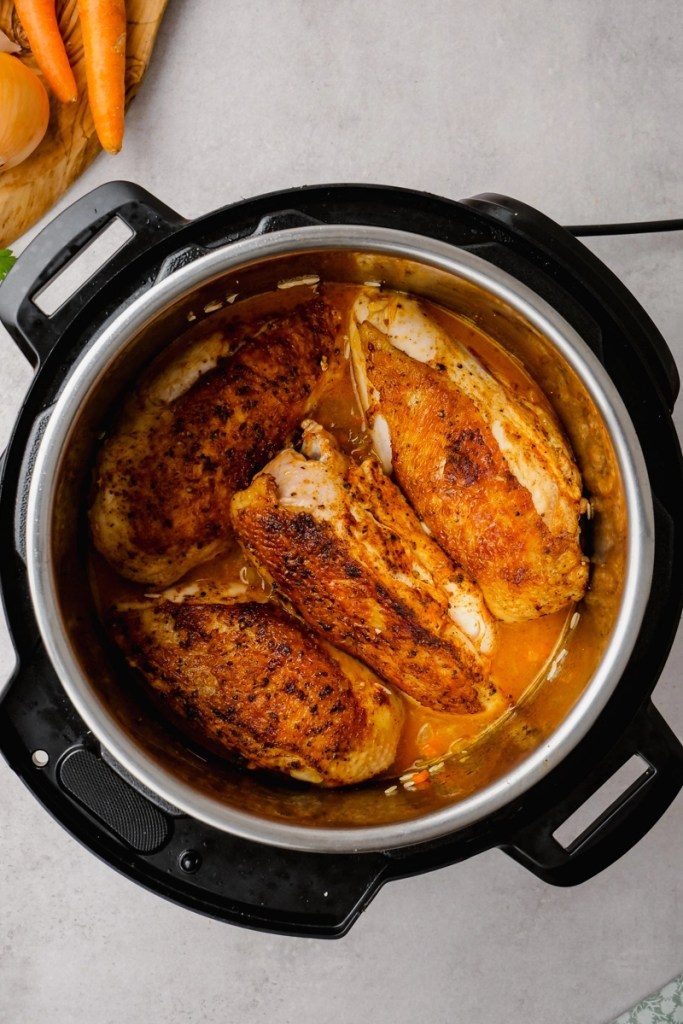 searing chicken in instant pot