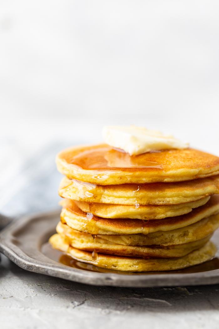 Low carb, or keto-friendly pancakes
