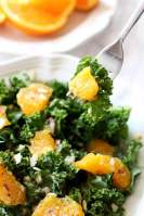 A navel orange kale salad perfect for summer dining