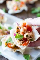 A perfect appetizer: Thai tuna Wonton Cups!