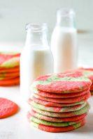 Tie Dye Sugar Cookies are a festive twist on a classic sugar cookie recipe