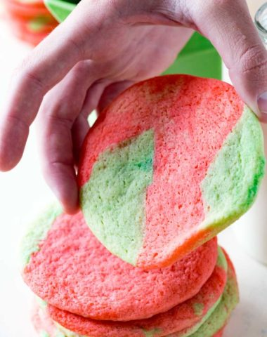 Tie Dye sugar cookies are a fun way to mix up sugar cookies and still get great flavor