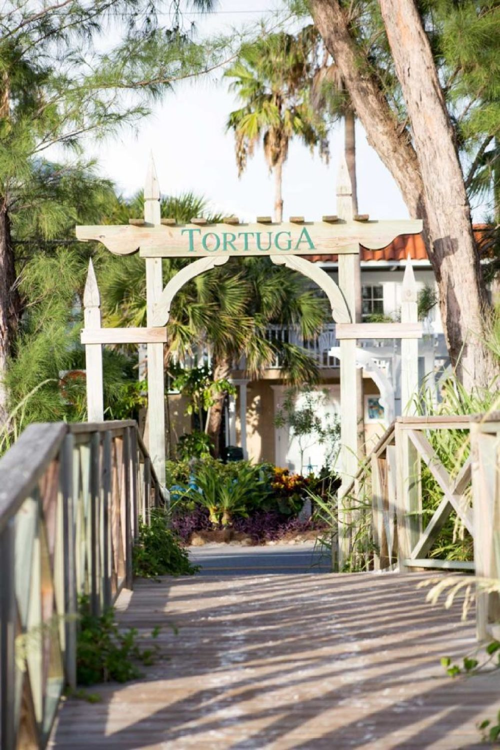 Tortuga Inn is a beautiful fl lice of heaven on Anna Maria Island