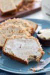 Coconut Vanilla Banana Bread is rich and delicious