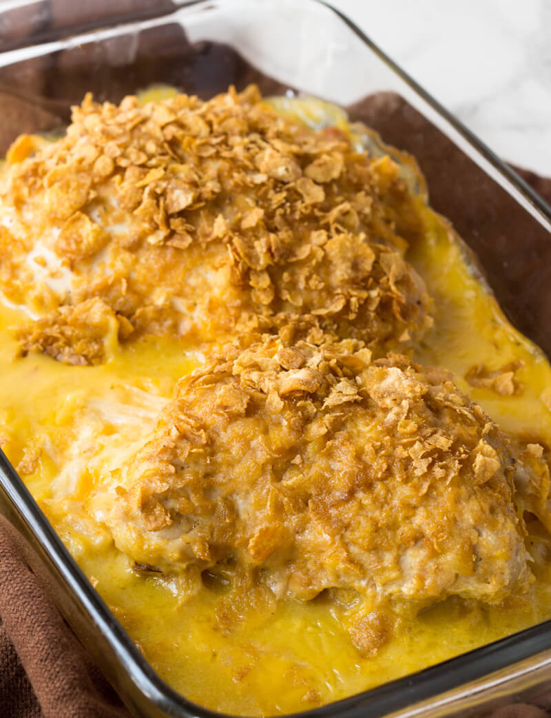 Cheesy Potato Stuffed Chicken Breasts
