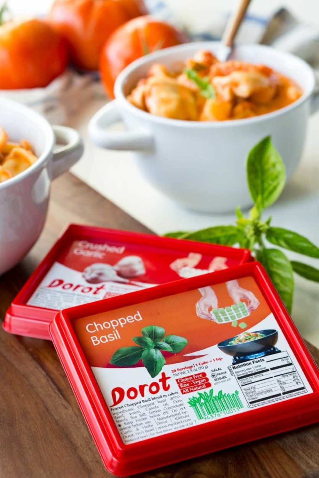 Dorot herbs make cooking easy