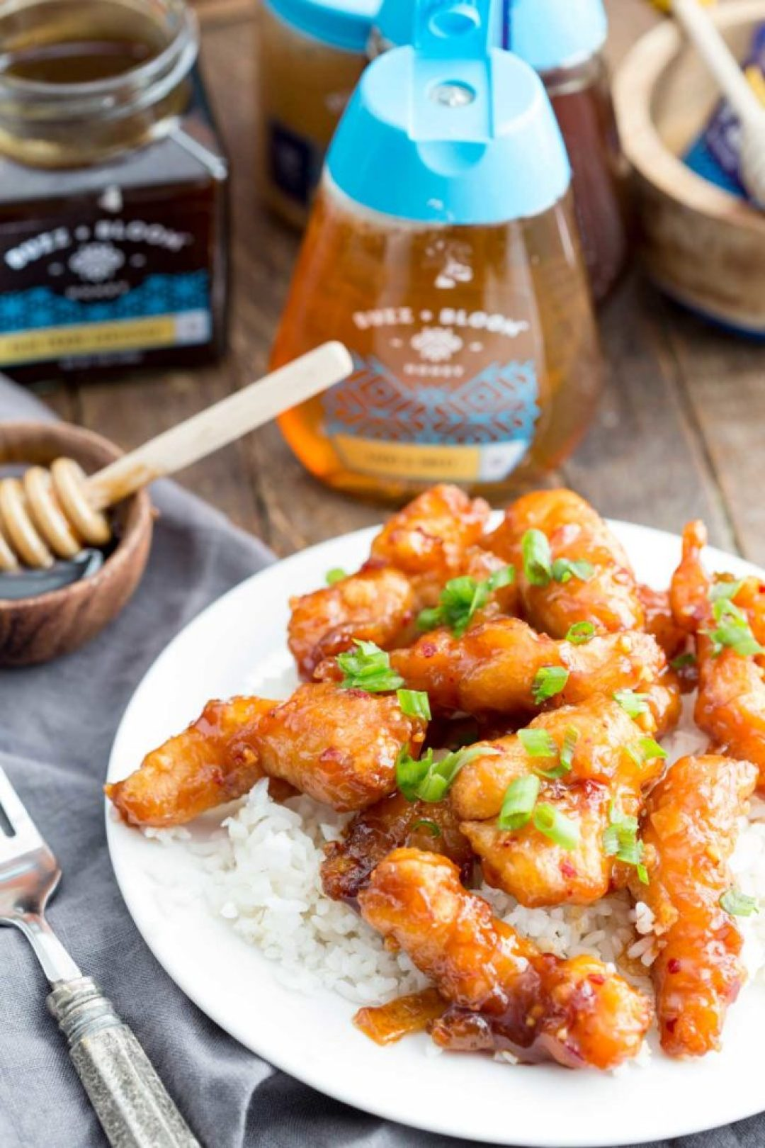 Honey Garlic chicken, a sweet, flavorful meal the whole family will love
