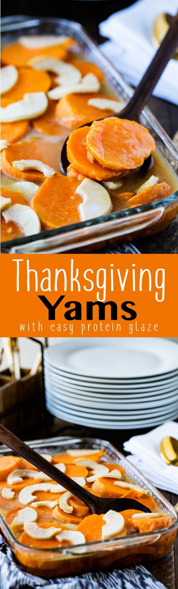 These are the BEST Thanksgiving Yams ever. They are not too sweet and are super easy to make.