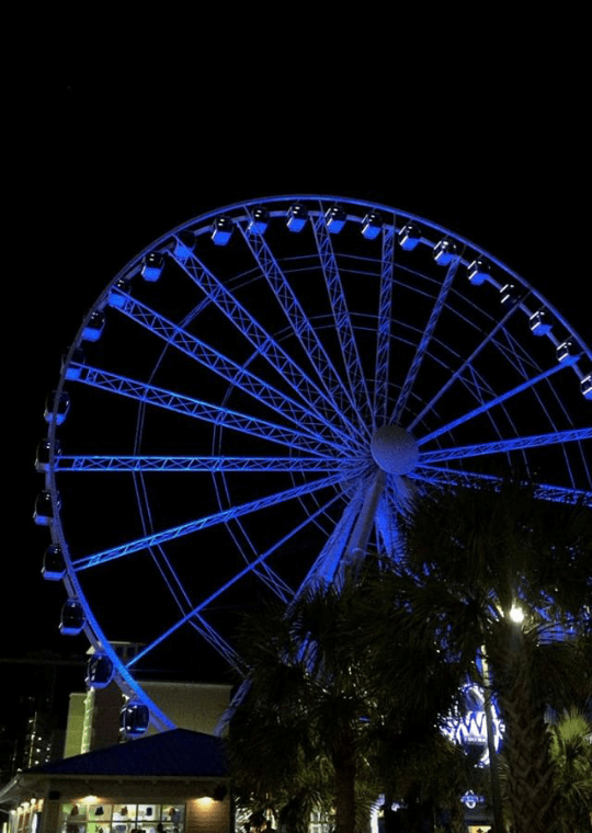 Skywheel in myrtle beach south carolina, a vacation destination for families, foodies, and more.
