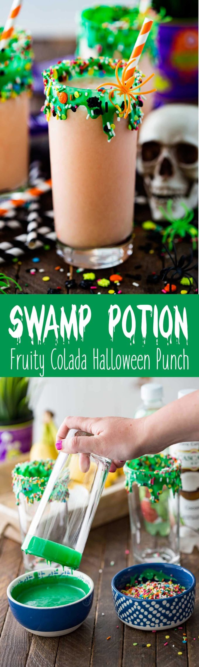 Swamp potion is a halloween punch you will love!