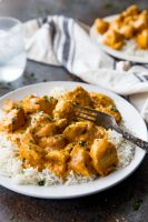 Indian Butter Chicken is a classic, flavorful Indian inspired chicken dish