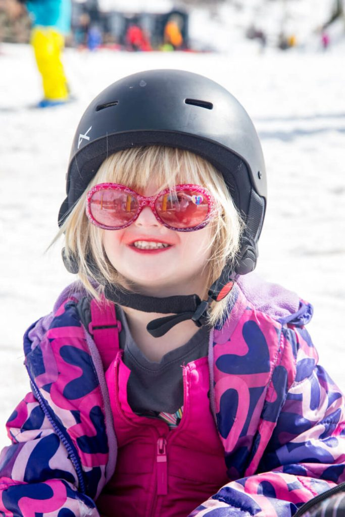 Ski school for the little ones