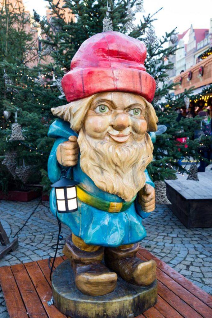 The christmas gnome