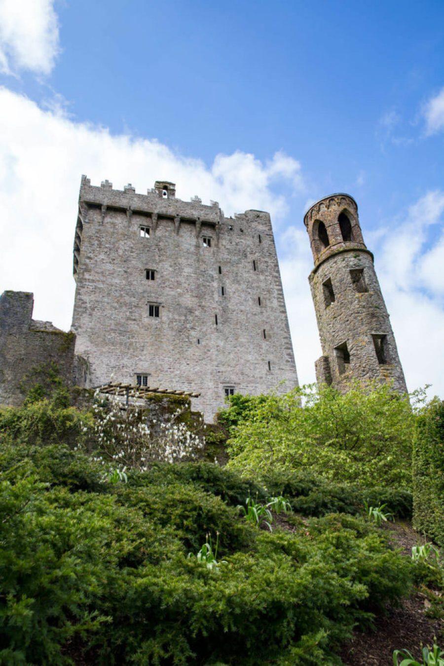 Blarney Castle, the historic, beautiful grounds of Blarney Castle county Cork