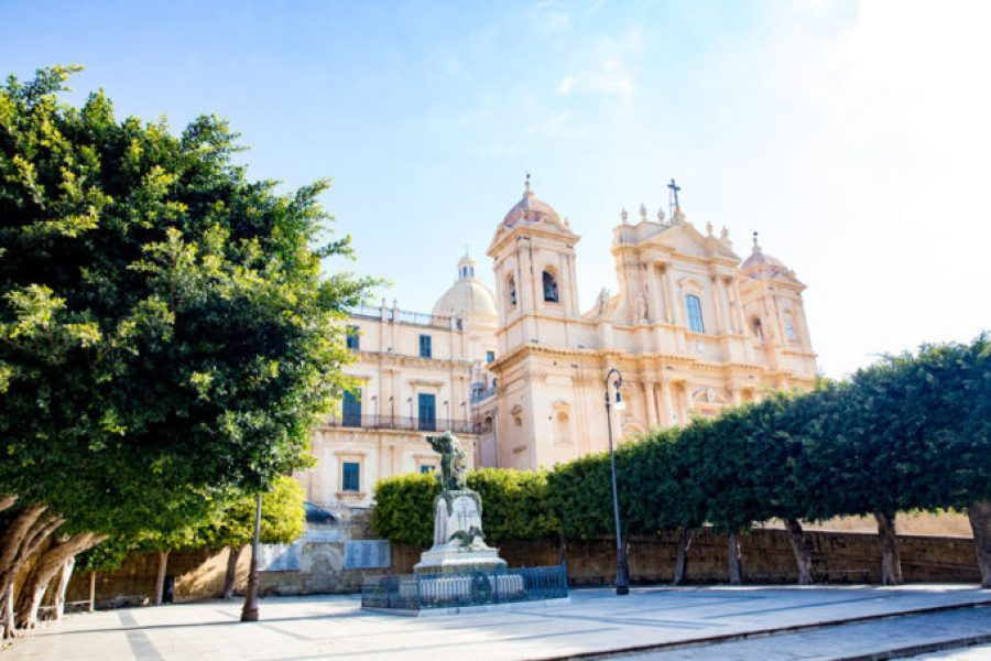 Noto Italy beautiful city