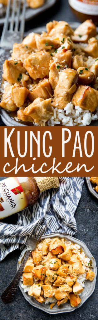 Kung Pao Chicken: The easiest 20 minute Kung Pao Chicken ever! Busy nights call for flavorful solutions, and this is it.