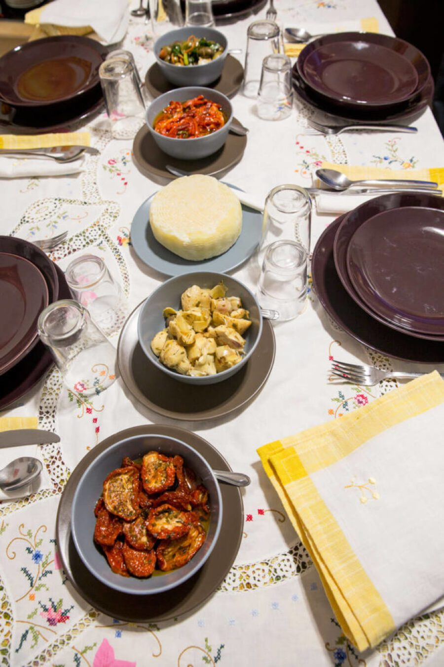 Soul of Sicily Cooking school in Italy