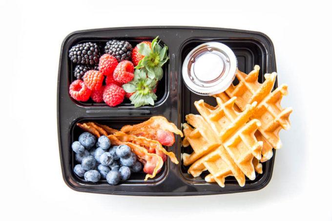 Breakfast box ideas, fun ways to prepare breakfast ahead of time.