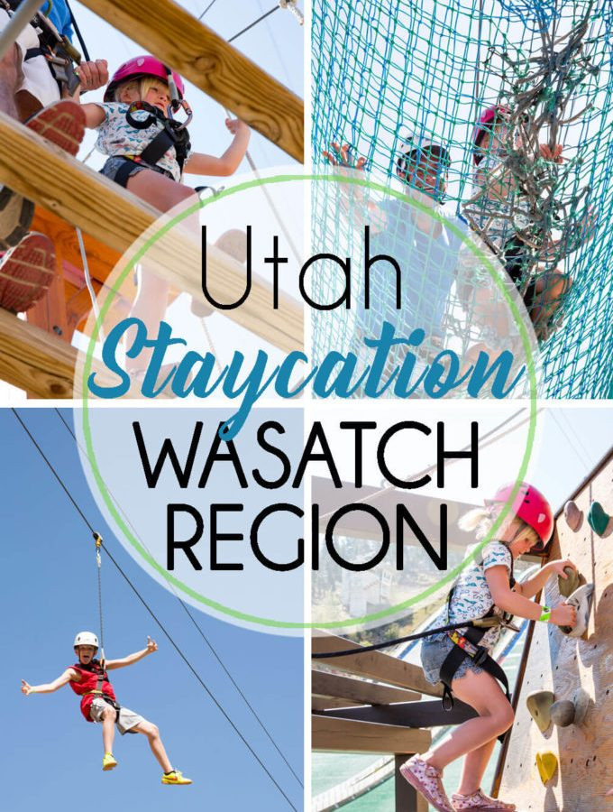 Utah Staycation wasatch region