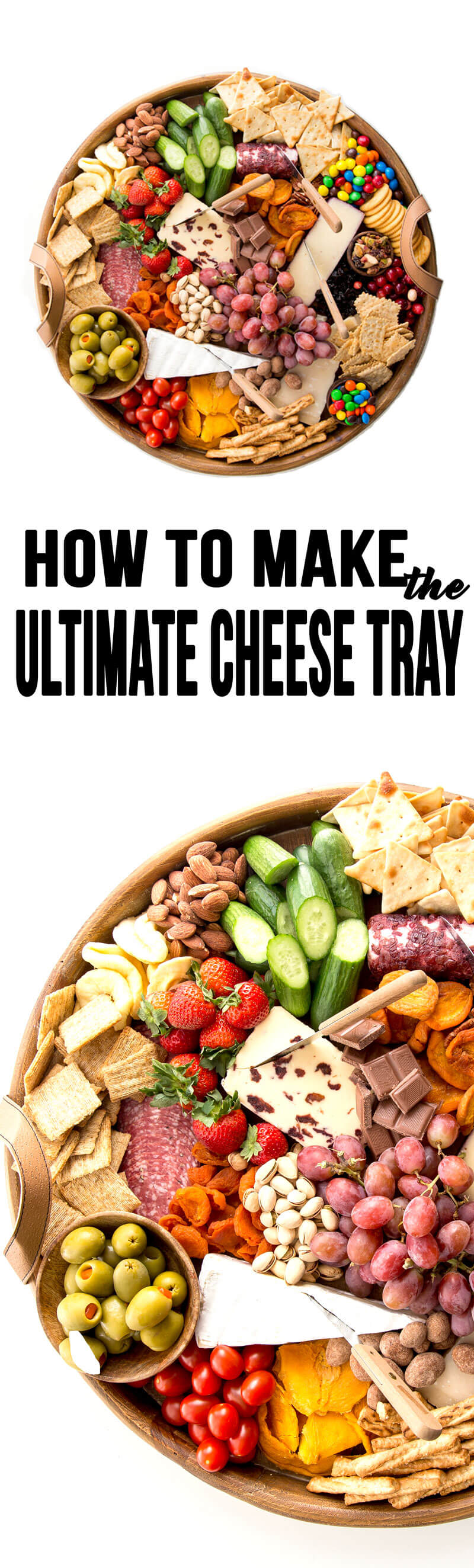 How to make the ultimate cheese tray for a party appetizer!