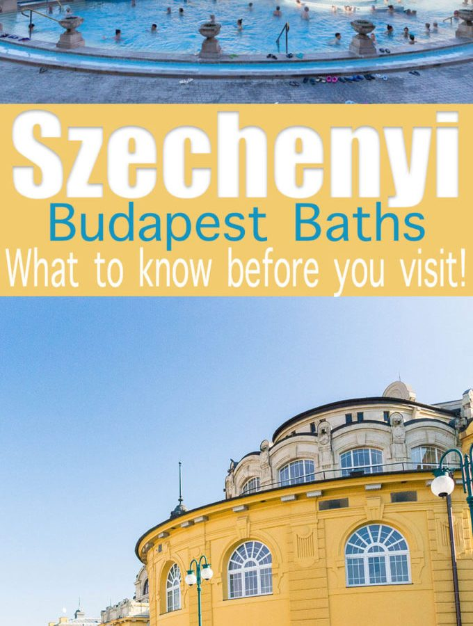 What to know before visiting the Szechenyi baths in Budapest