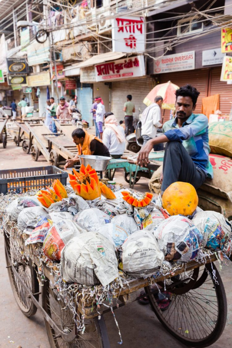 Fruit Vendor from Old Delhi India