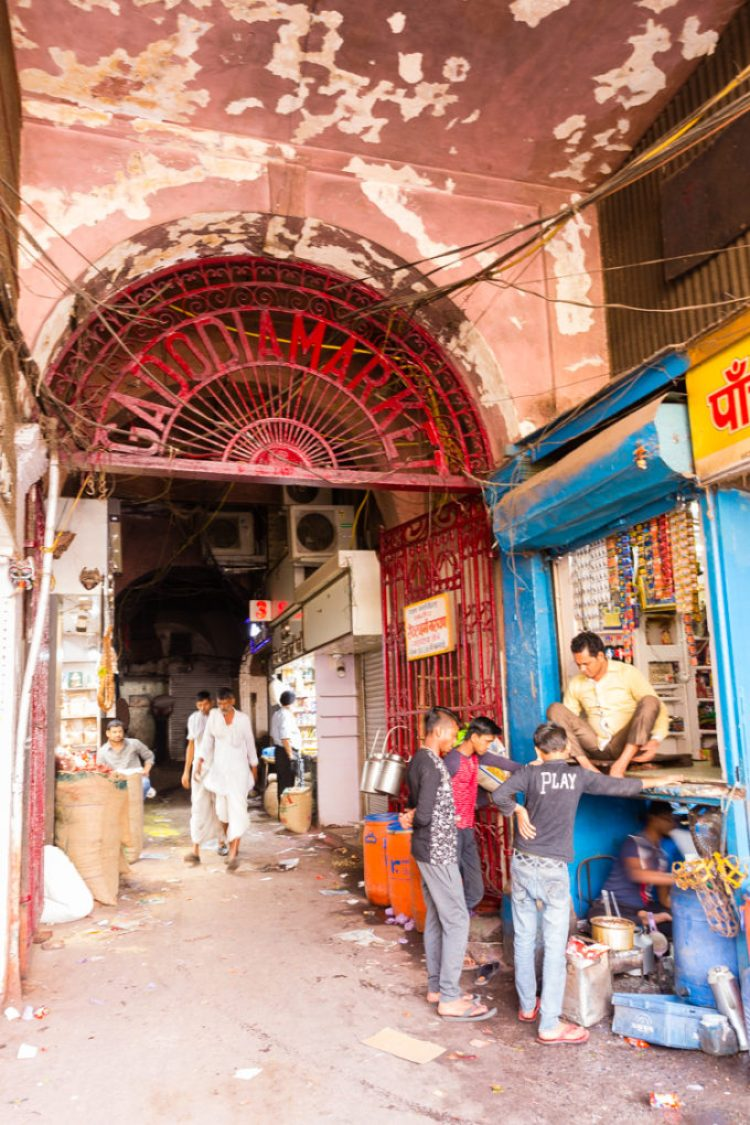 Markets in Old Delhi