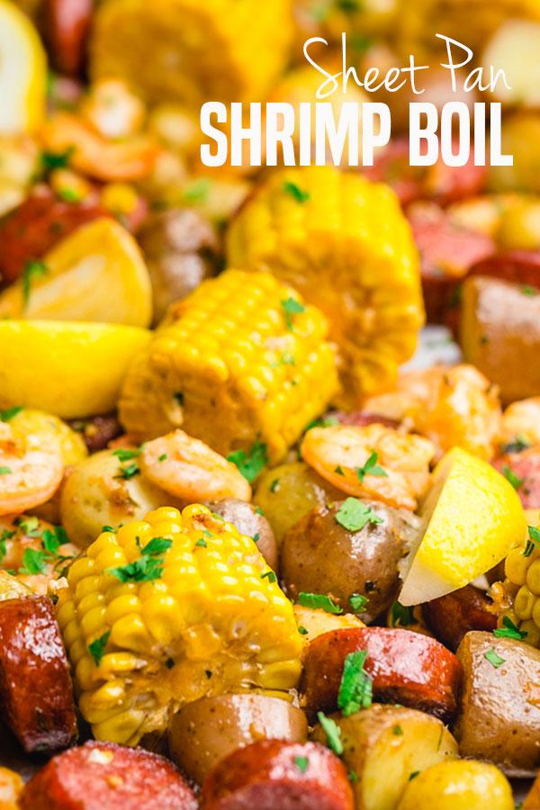 Sheet Pan Shrimp Boil Easy Peasy Meals
