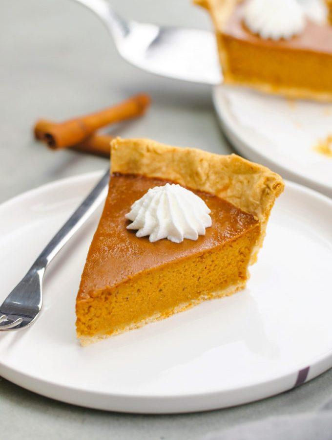 How to make pumpkin pie.